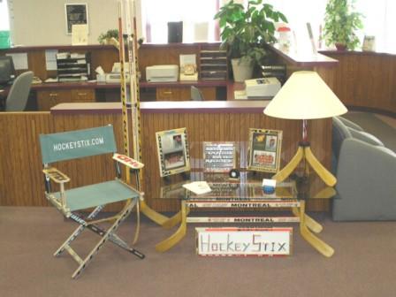Nice Welcome To HockeyStix! Manufacturer Of Custom Made Hockey Stick Furniture!